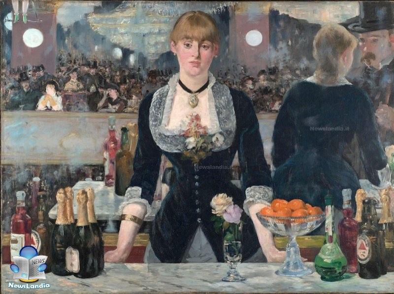 newsalndia quadri famosi anime Il bar delle Folies-Bergère