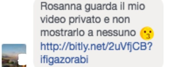 "Virus Facebook: ""Guarda il mio video privato.."""