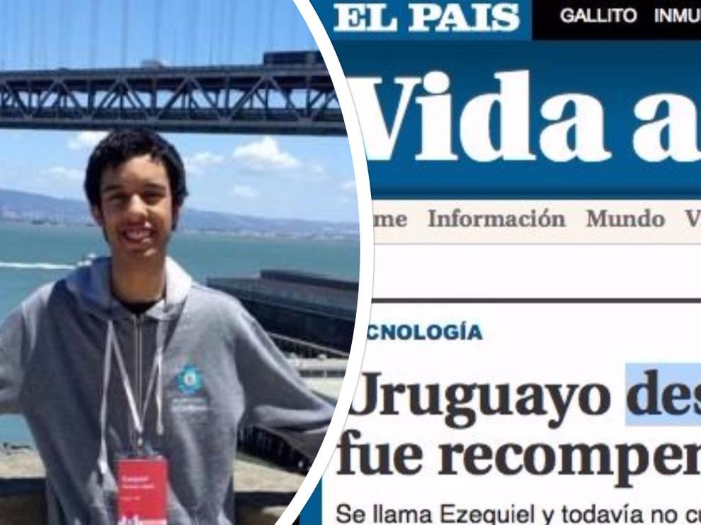 Uruguay: 17enne scopre un errore e Google lo premia così