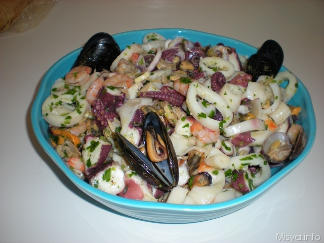 Insalata per l'estate – al sapore di mare!