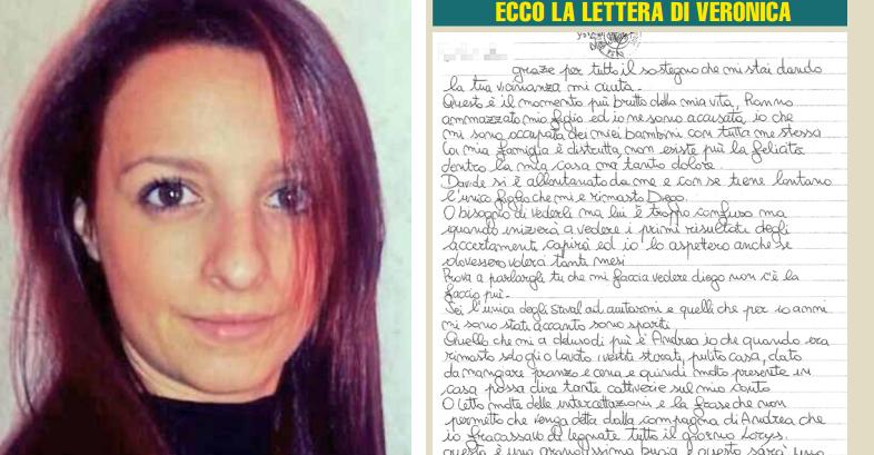 """La lettera di Veronica Panarello: """"Non l'ho ucciso io.."""""""