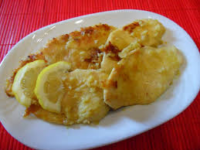 Petto di pollo al limone, secondo piatto veloce.