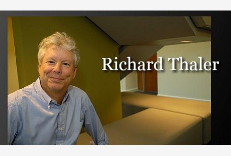 Richard H. Thaler vince il Premio Nobel per l'Economia 2017