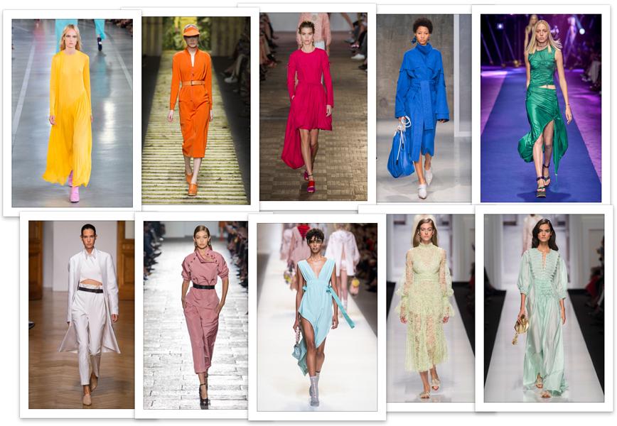 Moda: colori primavera-estate 2018