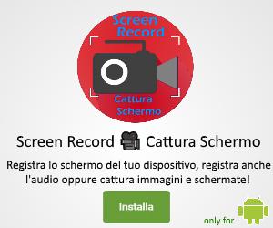 Screen Record 🎥 Cattura Schermo – Registra lo schermo del tuo smartphone android