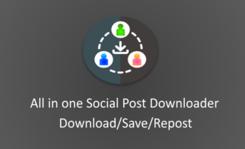 Social Post Downloader