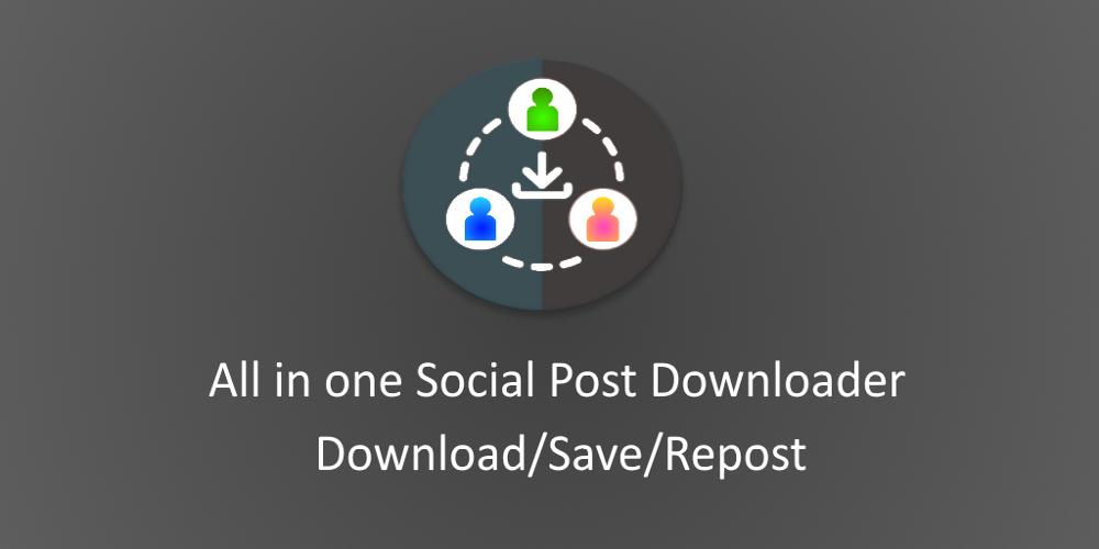Social Post DSR Scarica post dai social sul tuo smartphone
