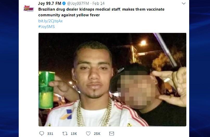 Il trafficante di droga che rapisce gli infermieri per vaccinare i poveri