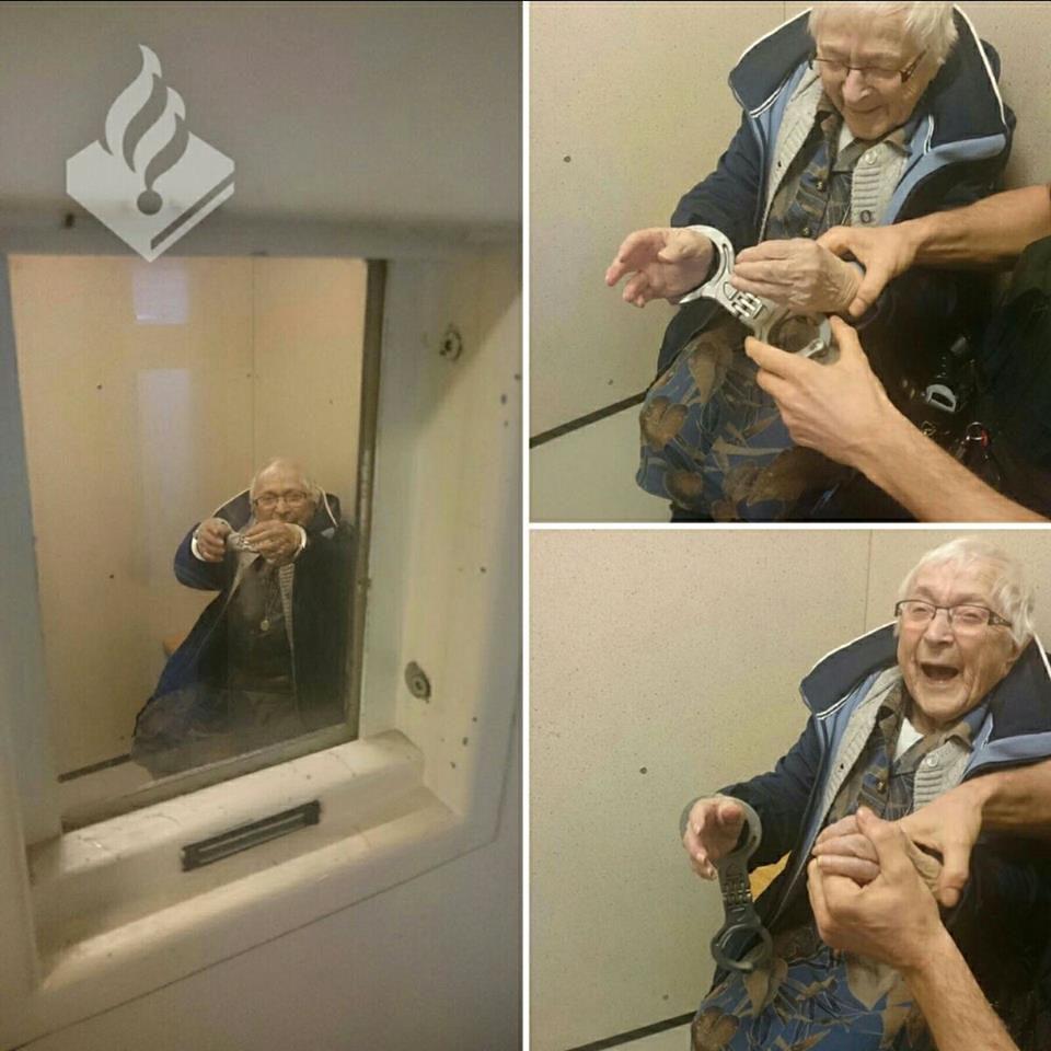 Arrestata a 100 anni per un suo sogno