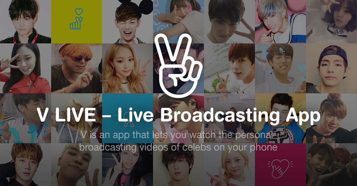 V LIVE, cos'è e come funziona la nuova app