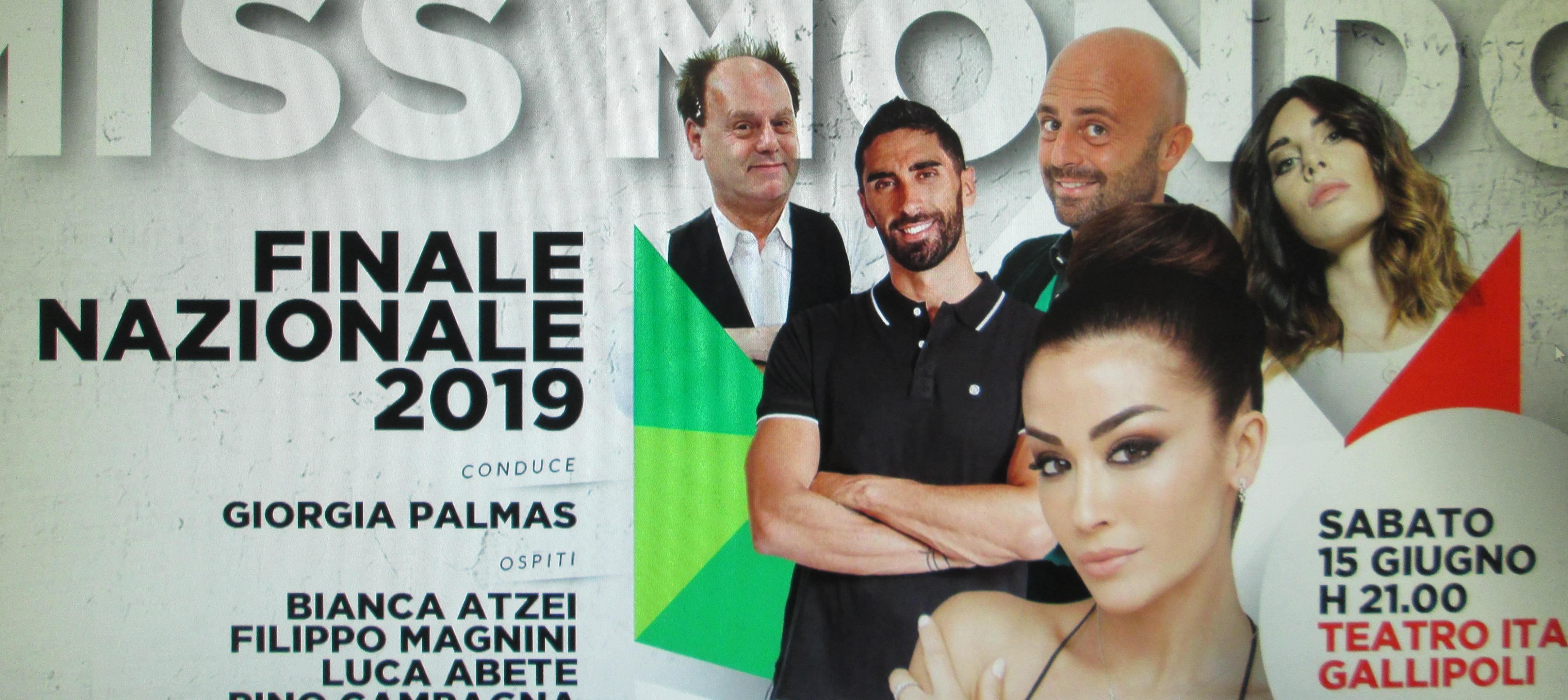 Miss Mondo Italia 2019. Chi sarà la fortunata vincitrice?