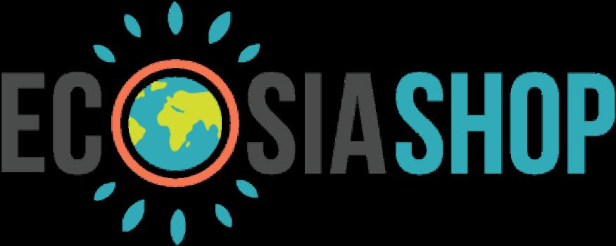Ecosia Shop Logo su Newslandia