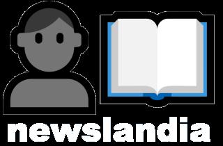 Newslandia Logo White