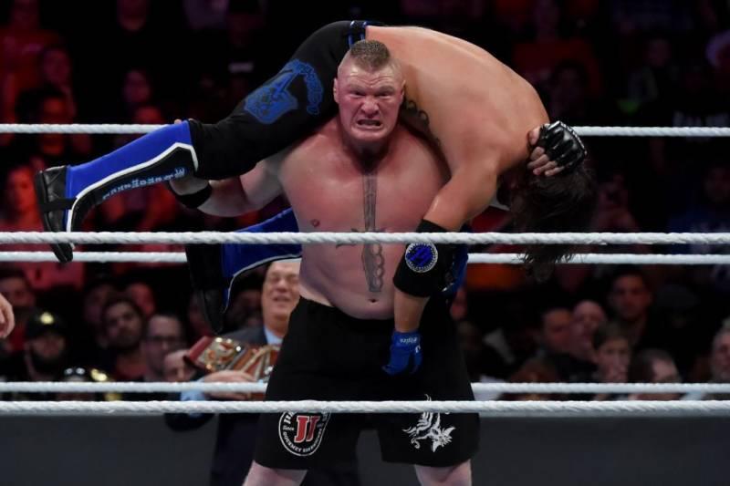 La mossa finale di Brock Lesnar: come si chiama?