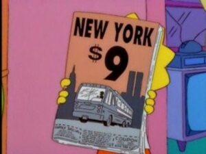 Simpson prevedono 11 settembre