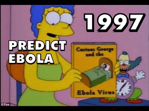 I simpson prevedono ebola